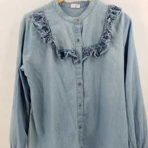 Melrose and Market chambray shirt XL